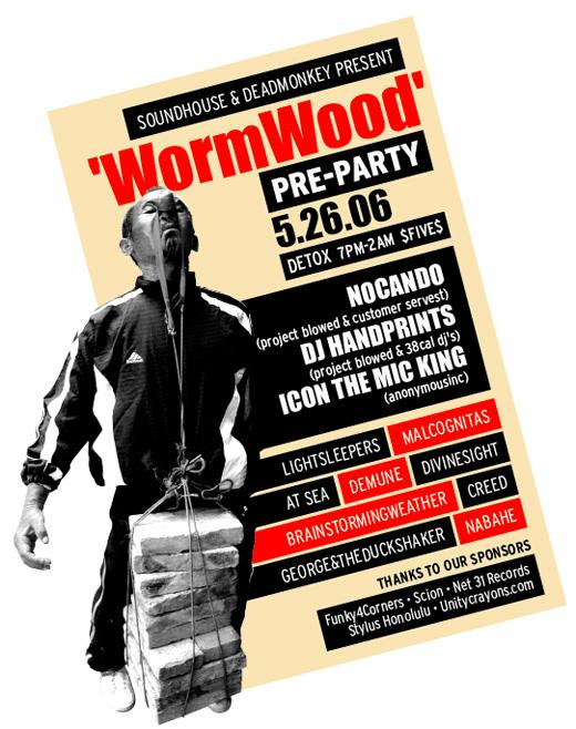 WormWood Flyer 2006